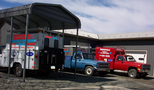 Friendsville Heating Trucks
